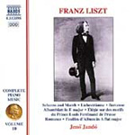Liszt: Piano Works, Vol 10 (CD)