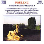 Poulenc: Complete Chamber Music Vol 3 (CD)