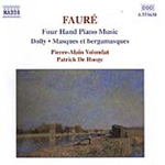 Fauré - Piano Music for Four Hands (CD)