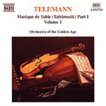 Telemann: Musique de Table, Vol 1 (CD)