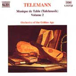 Telemann: Musique de Table, Vol 2 (CD)