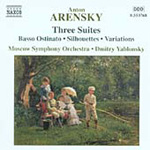 Arensky: (3) Orchestral Suites (CD)