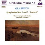 Glazunov: Symphonies Nos 2 and 7 (CD)
