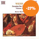 Weiss: Sonatas for Lute, Volume 1 (CD)