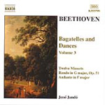 Beethoven: Bagatelles and Dances, Volume 3 (CD)