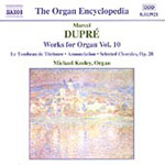 Dupré: Organ Works, Volume 10 (CD)