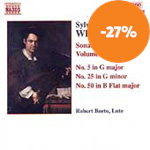 Weiss: Sonatas for Lute, Vol 2 (CD)