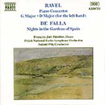 Falla; Ravel: Nights in the Gardens of Spain; Piano Concertos (CD)