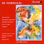 Nørholm: Vocal Works (CD)