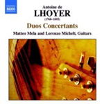 Lhoyer: Duos Concertants (CD)