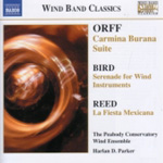 Orff; Bird; Reed: Wind Band Music (CD)
