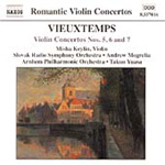 Vieuxtemps: Violin Concertos (CD)