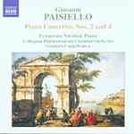 Paisiello: Piano Concertos Nos 2 and 4 (CD)