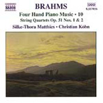 Brahms: Four Hand Piano Music, Vol 10 (CD)