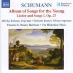 Schumann: Lieder and Songs I, Op 27; Album of Songs for the Young, Op 79 (CD)