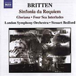 Britten: Sinfonia da Requiem; Four Sea Interludes (CD)