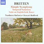 Britten: Simple Symphony; Suite on English Folk Tunes (CD)