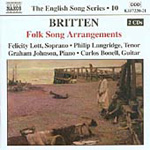 Britten: Folk Song Arrangements (CD)