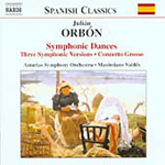 Orbón: Orchestral Works (CD)