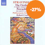 Stravinsky: The Firebird; Petrushka (CD)