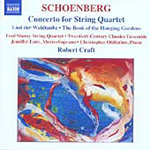 Schoenberg: Concerto for String Quartet and Orchestra (CD)