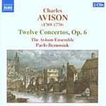 Produktbilde for Avison: (12) Concertos, Op 6 (CD)