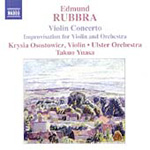 Rubbra: Improvisation for Violin and Orchestra; Violin Concerto (CD)