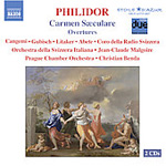 Philidor: Carmen S culare (CD)