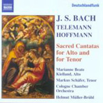 Bach; Hoffmann; Telemann: Sacred Cantatas for Alto and Tenor (CD)