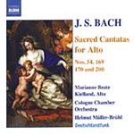 Bach: Sacred Cantatas for Alto (CD)