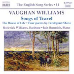 Vaughan Williams: Songs of Travel; The House of Life (CD)