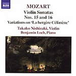 Mozart: Violin Sonatas Nos 15 and 16 (CD)