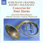 Concertos for Four Horns (CD)