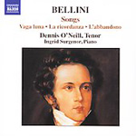 Bellini: Songs (CD)