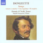Donizetti: Songs (CD)