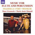 Marc Grauwels - Music for Flute and Percussion (CD)