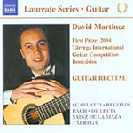 David Martinez - Guitar Recital (CD)