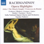 Rachmaninov: Opera Highlights (CD)