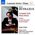 Dutilleux: Complete Piano Music (CD)