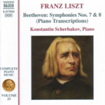 Liszt: Beethoven: Symphonies Nos 7 & 8 (Piano Transcriptions) (CD)