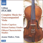 Fuchs, L: Complete Music for Unaccompanied Viola (CD)