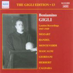 The Gigli Edition, Volume 13 (CD)