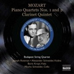 Mozart: Piano Quartets Nos 1 and 2; Clarinet Quintet (CD)