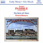 Paisible: Six Setts of Aires (CD)