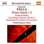 Falla: Piano Works, Vol 2 (CD)