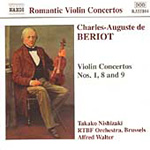 De Beriot: Violin concertos Nos 1, 8 and 9 (CD)