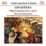 Ginastera: Piano Concerto No. 1, Op. 28 and No. 2, Op. 39 (CD)