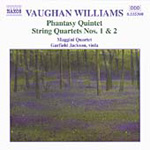 Vaughan Williams: String Quartets Nos. 1 & 2; Phantasy Quintet (CD)