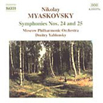 Myaskovsky: Symphonies Nos 24 and 25 (CD)