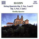 Haydn: String Quartets Op 2 No 3 & 5 (CD)